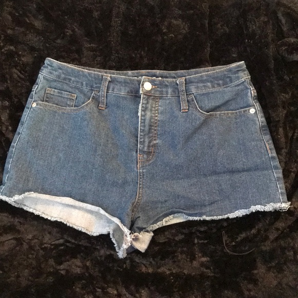 Denim Mini Shorts